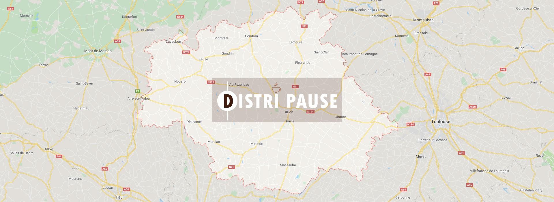 Large choix de produits de distributeur automatique à Moncassin | Distri Pause